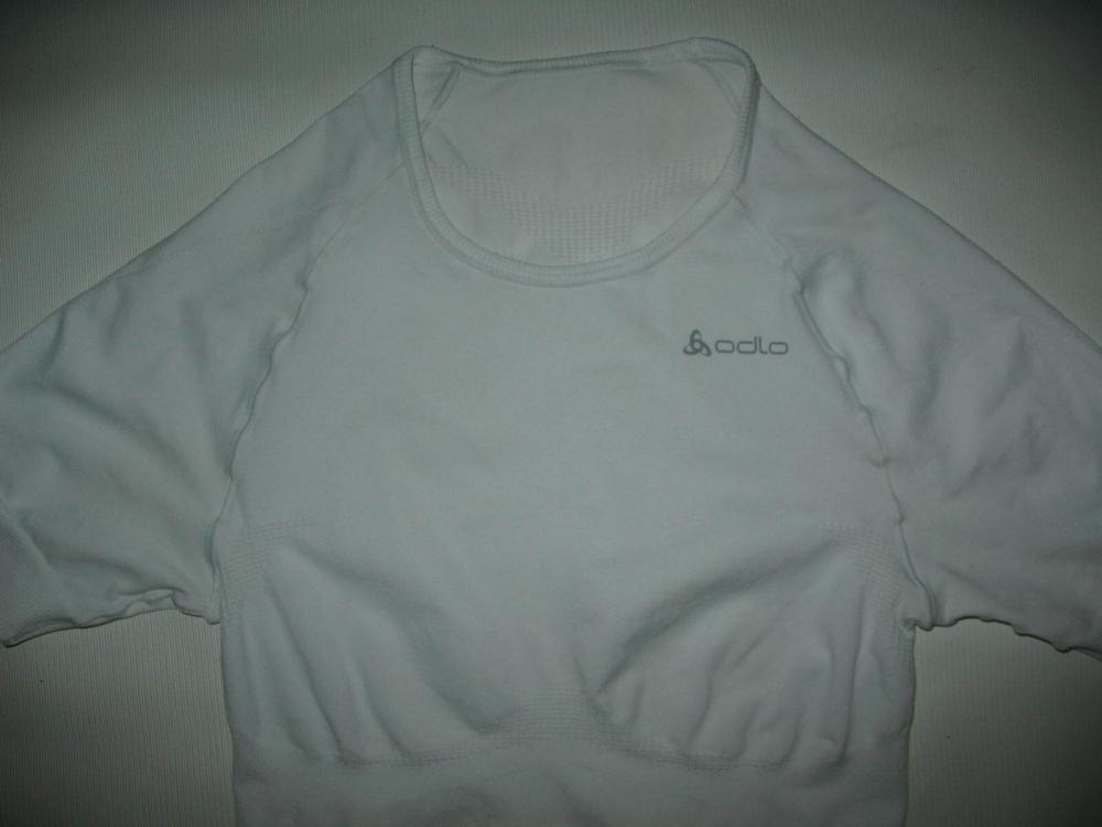 Футболка ODLO compression shirt lady (размер S) - 3
