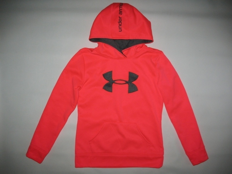 Кофта UNDER ARMOUR Fleece Big Logo Pullover Hoody kids/lady  (размер YL/взрослый XS) - 2