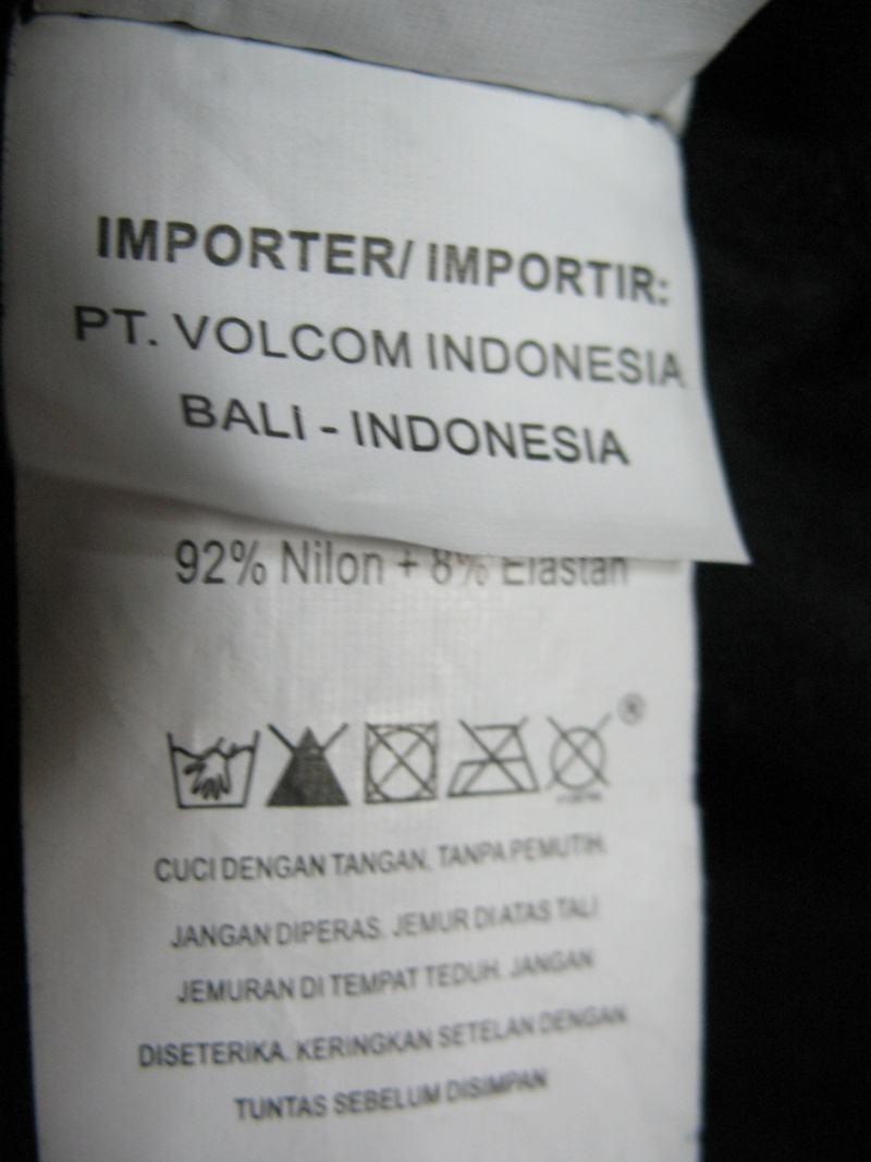 Футболка VOLCOM modtech compression jersey  (размер XL) - 7