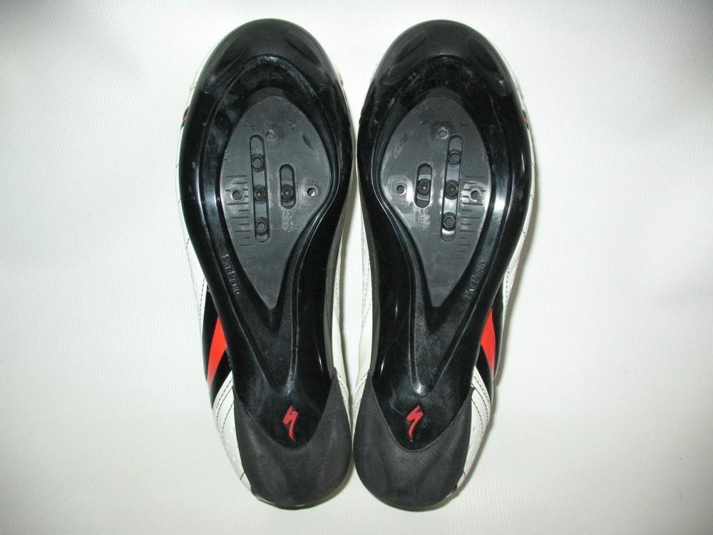 Велотуфли SPECIALIZED sport road white shoes (размер EU41(на стопу до 260 mm)) - 6