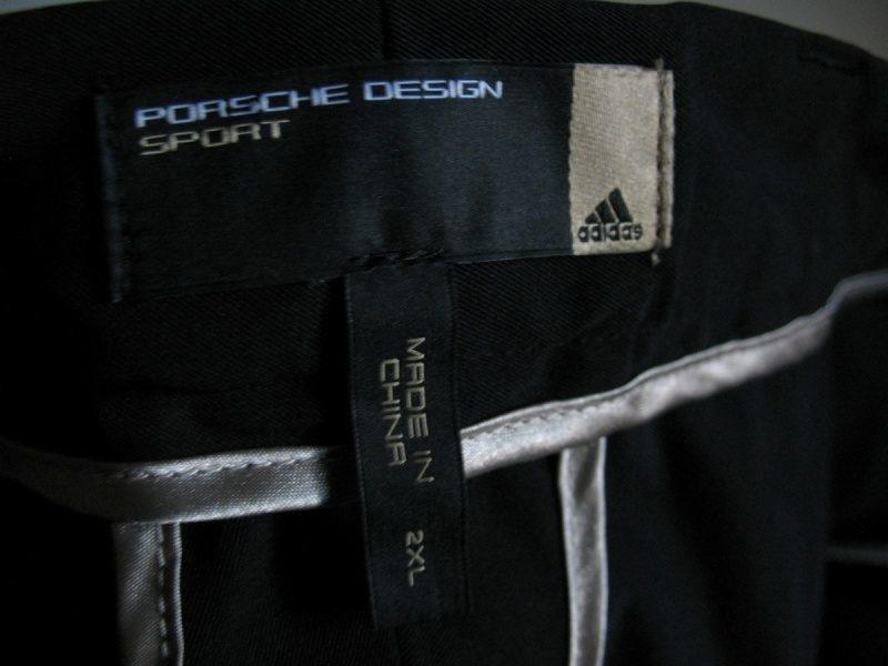 Штаны PORSCHE DESIGN by ADIDAS pants  (размер XXL) - 11