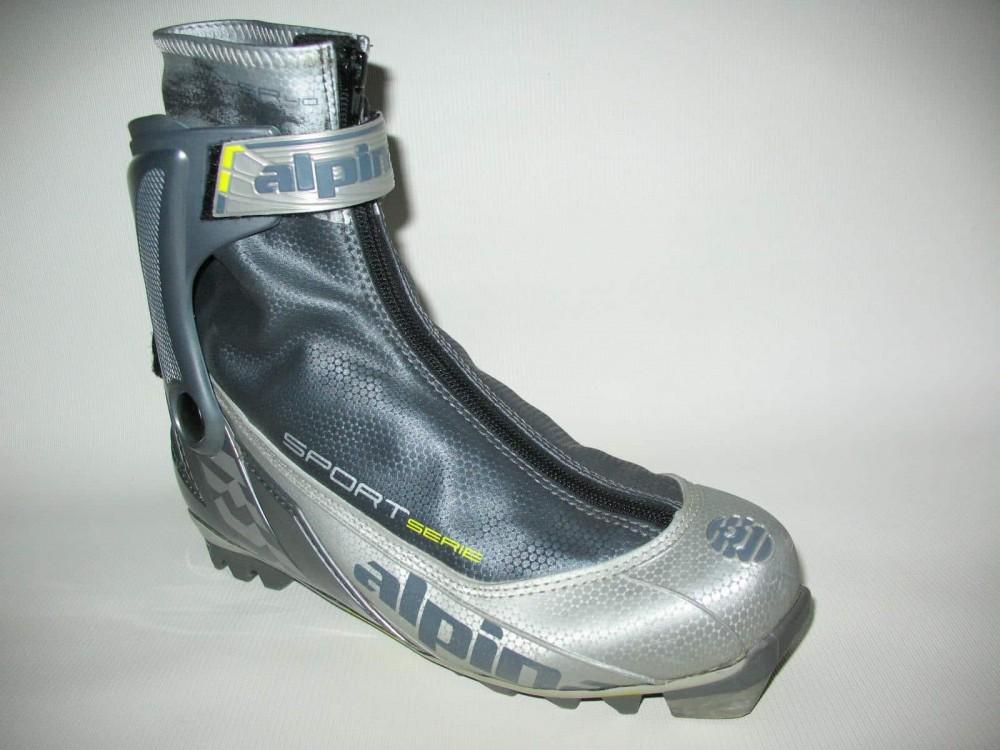 Ботинки ALPINA sr40 cross country ski boots (размер EU41(на стопу до 255 mm)) - 3