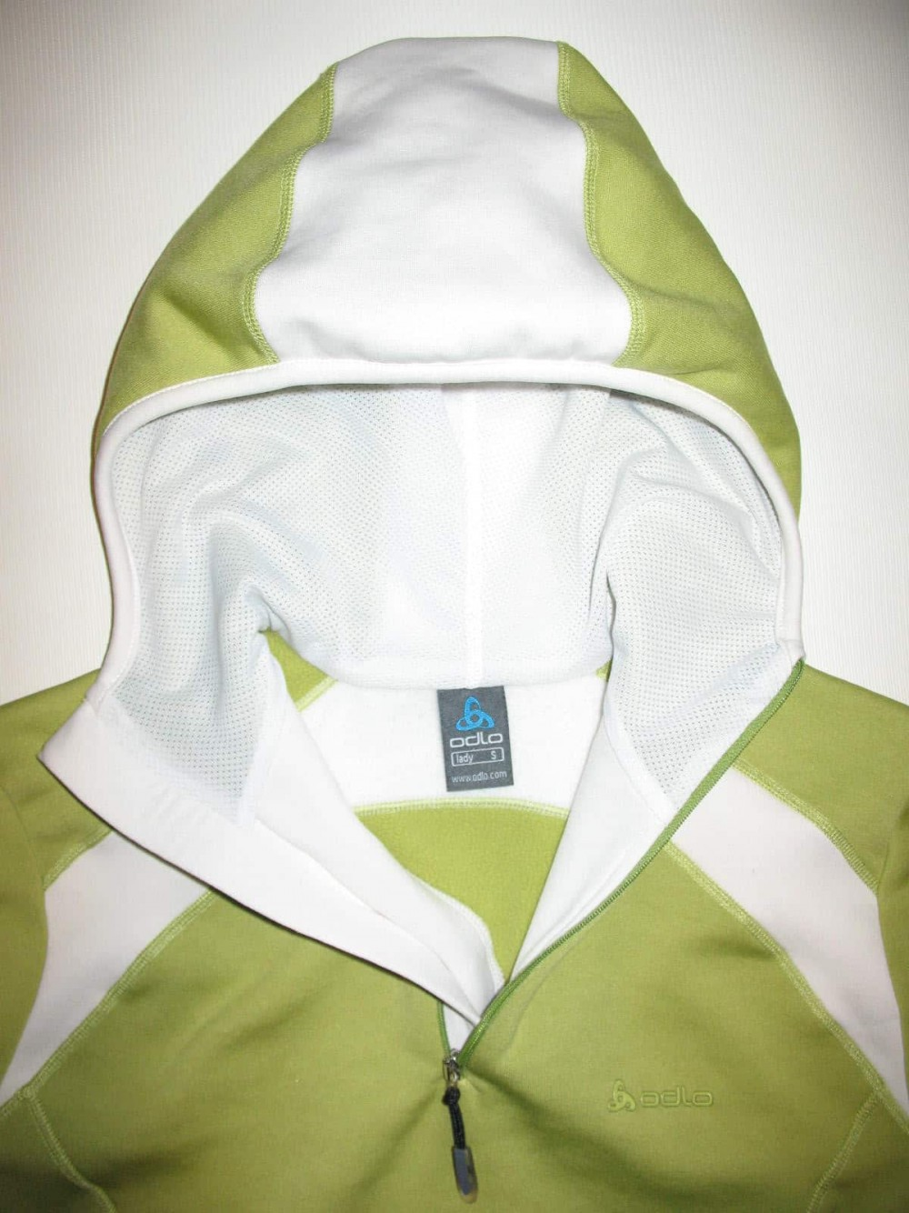 Кофта ODLO fleece hoodies jersey lady (размер S) - 3