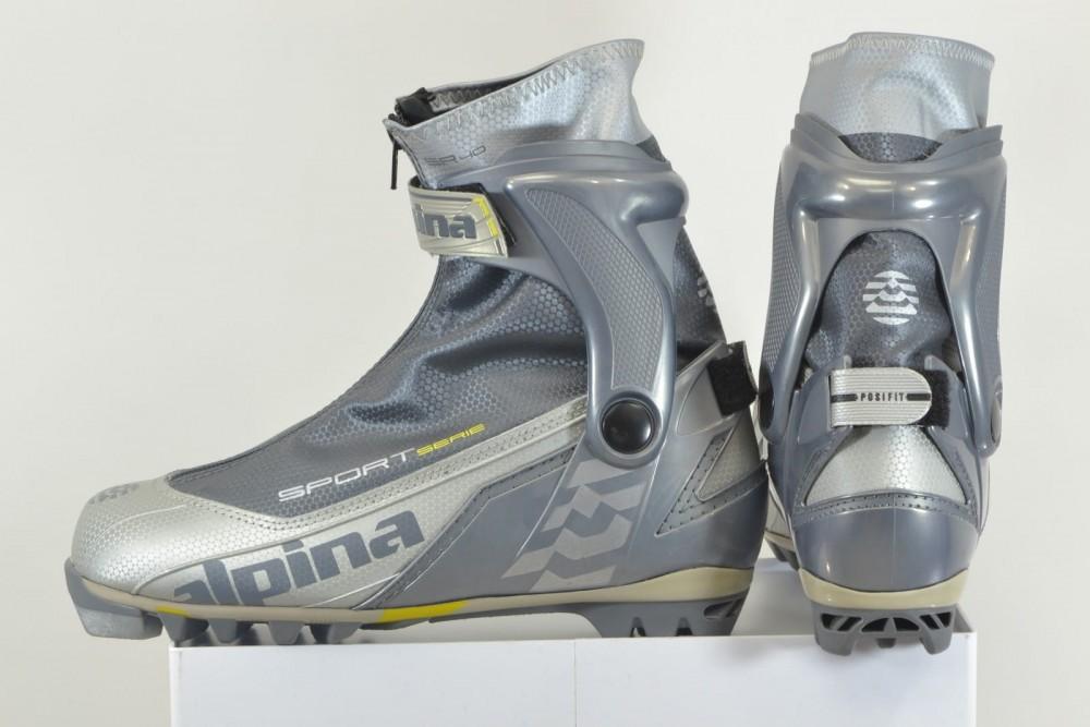 Ботинки ALPINA sr40 cross country ski boots (размер EU41(на стопу до 255 mm)) - 1