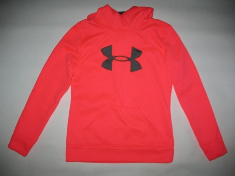 Кофта UNDER ARMOUR Fleece Big Logo Pullover Hoody kids/lady  (размер YL/взрослый XS) - 1