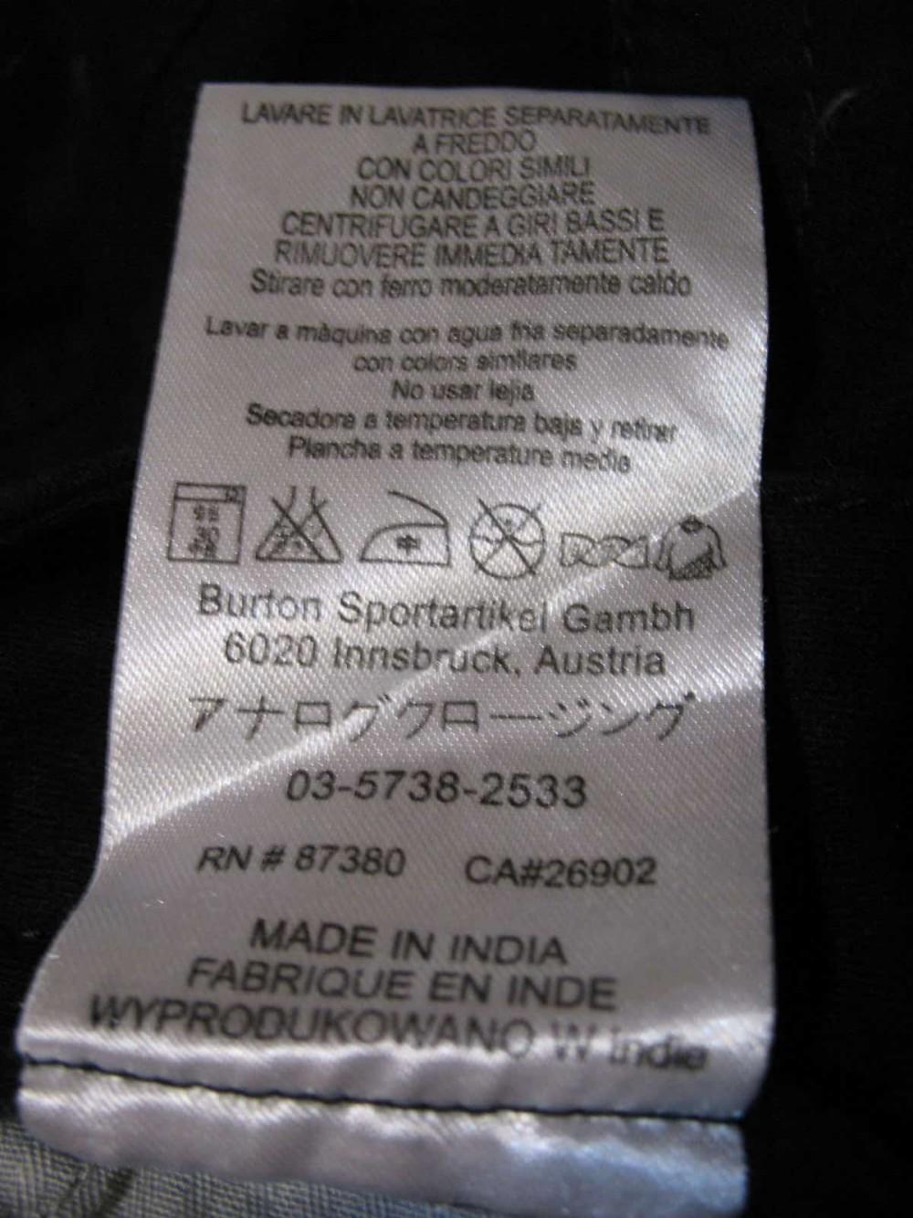 Шорты BURTON cargo shorts (размер 32/M) - 7