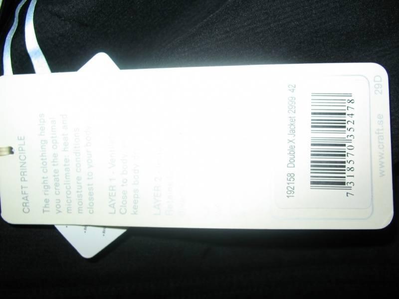 Куртка CRAFT double X lady (размер 42L) - 7