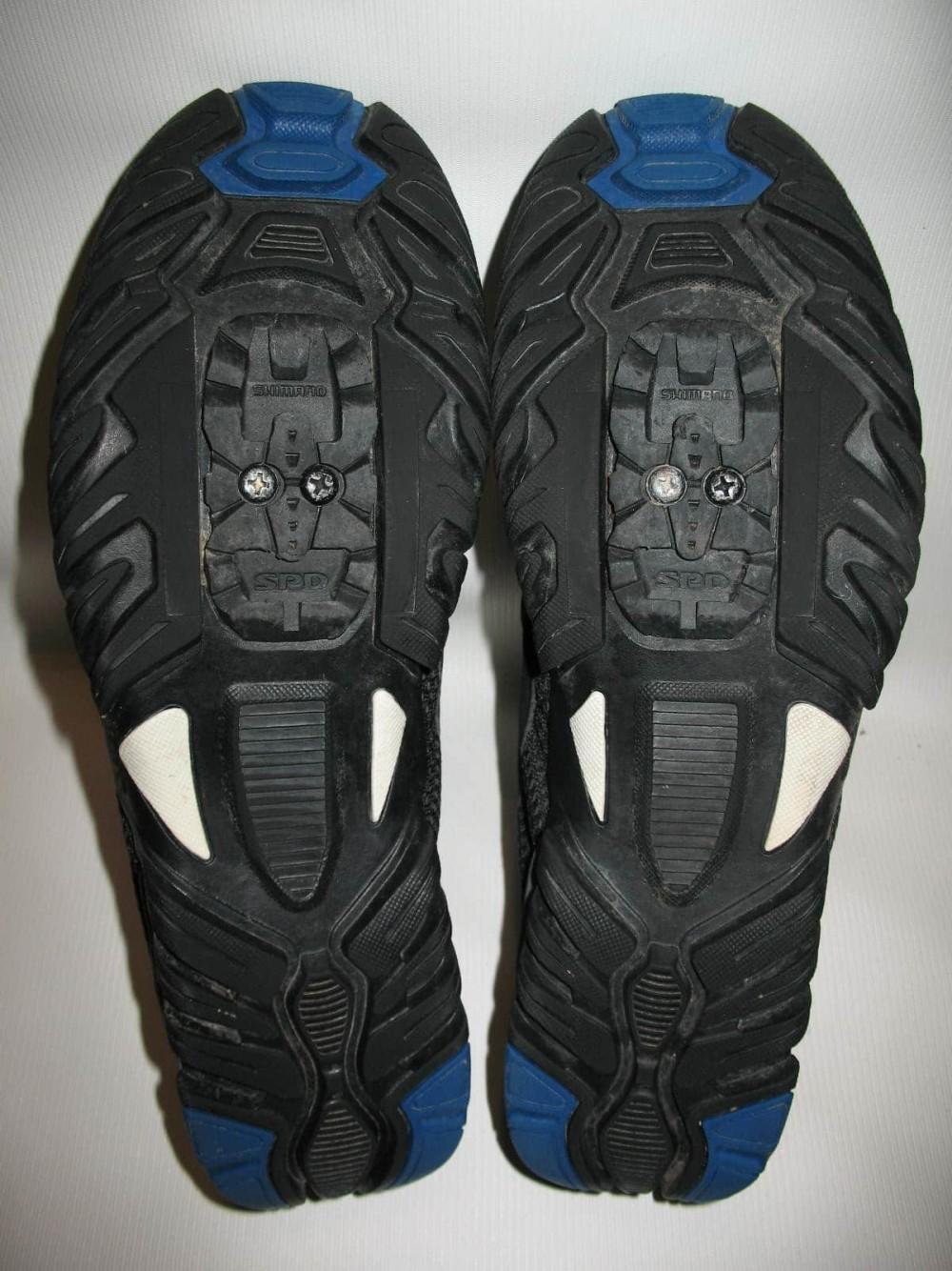 Велотуфли SHIMANO sh-mt33 mtb shoes (размер EU42(на стопу 260 mm)) - 7