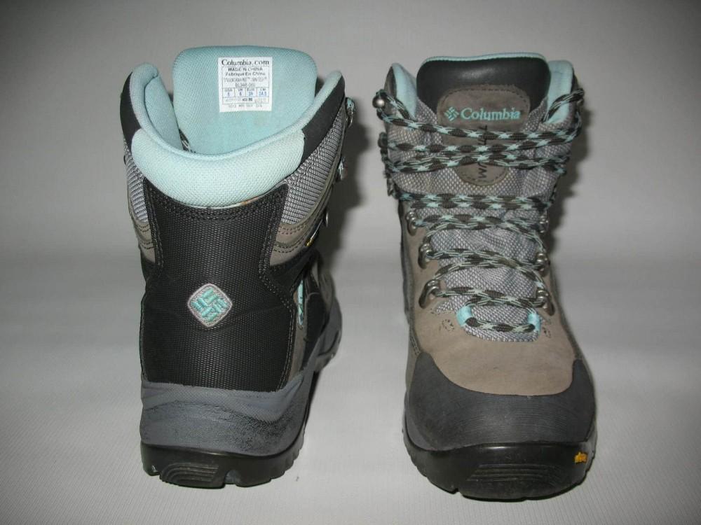Ботинки COLUMBIA  titanium daska pass boots lady (размер US8/UK6/EU39(на стопу 245 mm)) - 5