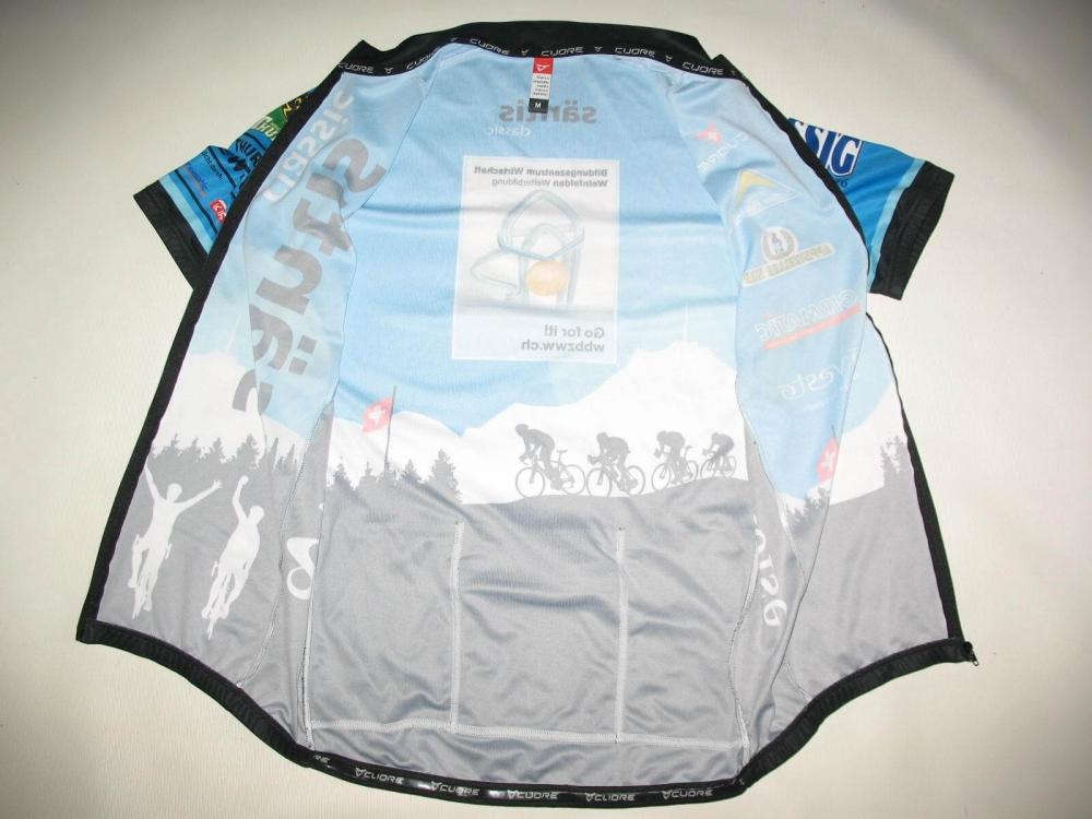 Веломайка CUORE santis cycling jersey (размер M) - 4