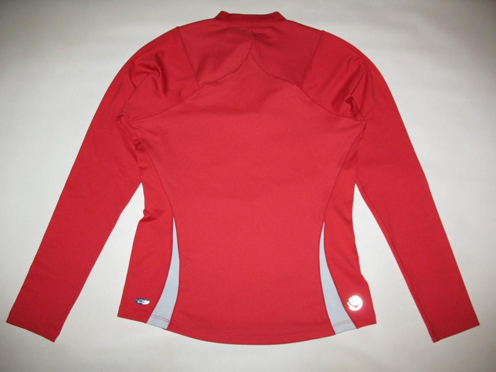 Футболка ASICS longsleeve jersey lady (размер M) - 1