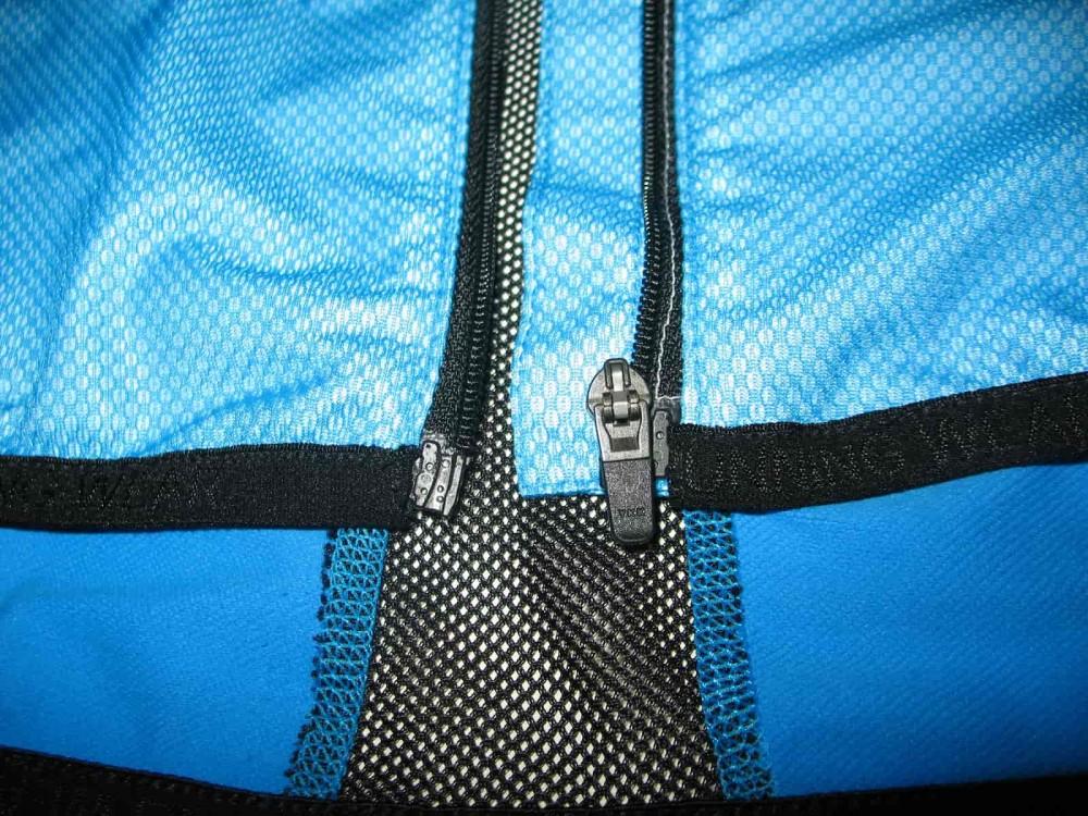 Вело/бег куртка GORE gtx windstopper ultralight blue jacket (размер XXL) - 3