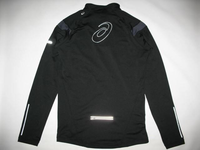 Кофта ASICS run fleece 1/2 zip jersey (размер L) - 1