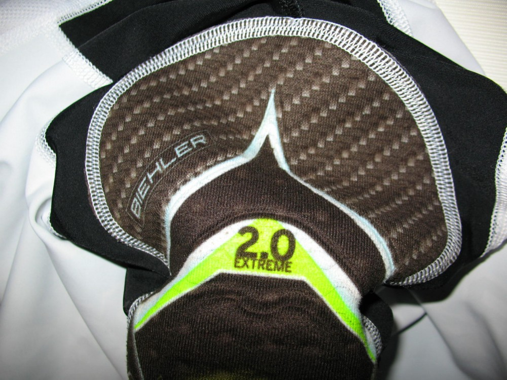Велошорты BIEHLER heavy gear bib cycling shorts (размер S) - 5
