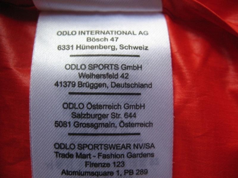 Куртка ODLO 2in1 windproof jacket (размер XXL) - 11