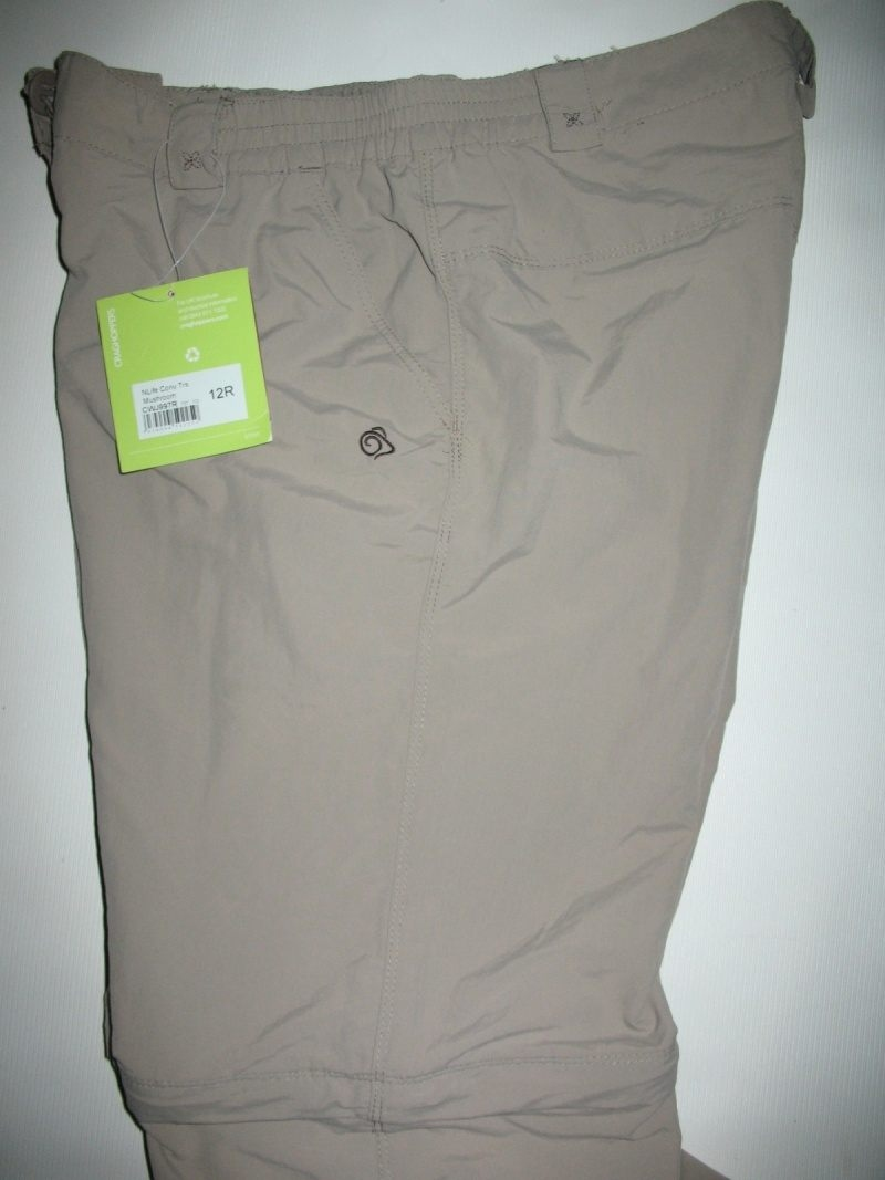 Штаны CRAGHOPPERS Nosilife Convertible Zip-Off Travel Trousers lady (размер 38/M) - 9