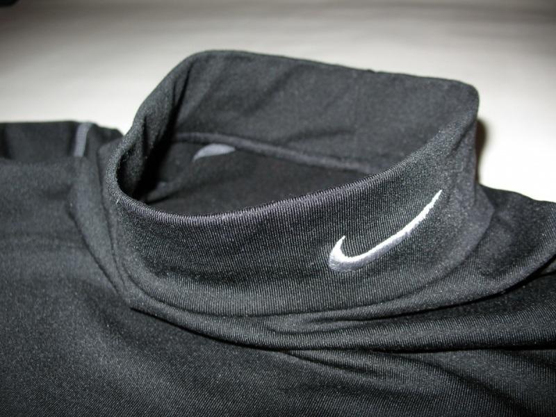 Футболка NIKE Pro Combat Fitted Mock Neck Shirt Dri-Fit (размер юношеский XL/взрослый XS/S) - 5