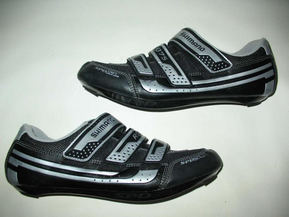 Велотуфли SHIMANO sh-r075 road shoes (размер EU47(на стопу 298 mm)) - 5