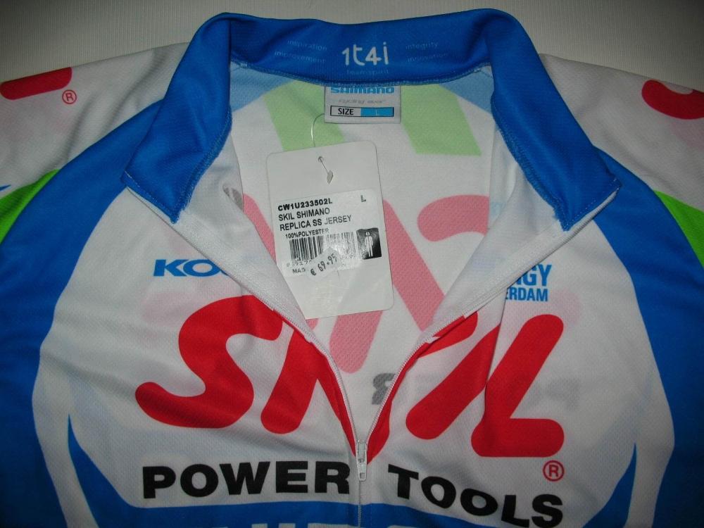 Веломайка SHIMANO skil cycling jersey (размер L) - 3