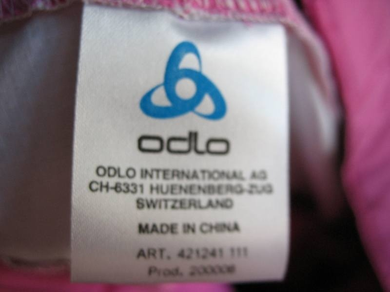 Шорты ODLO bike shorts lady (размер L) - 6