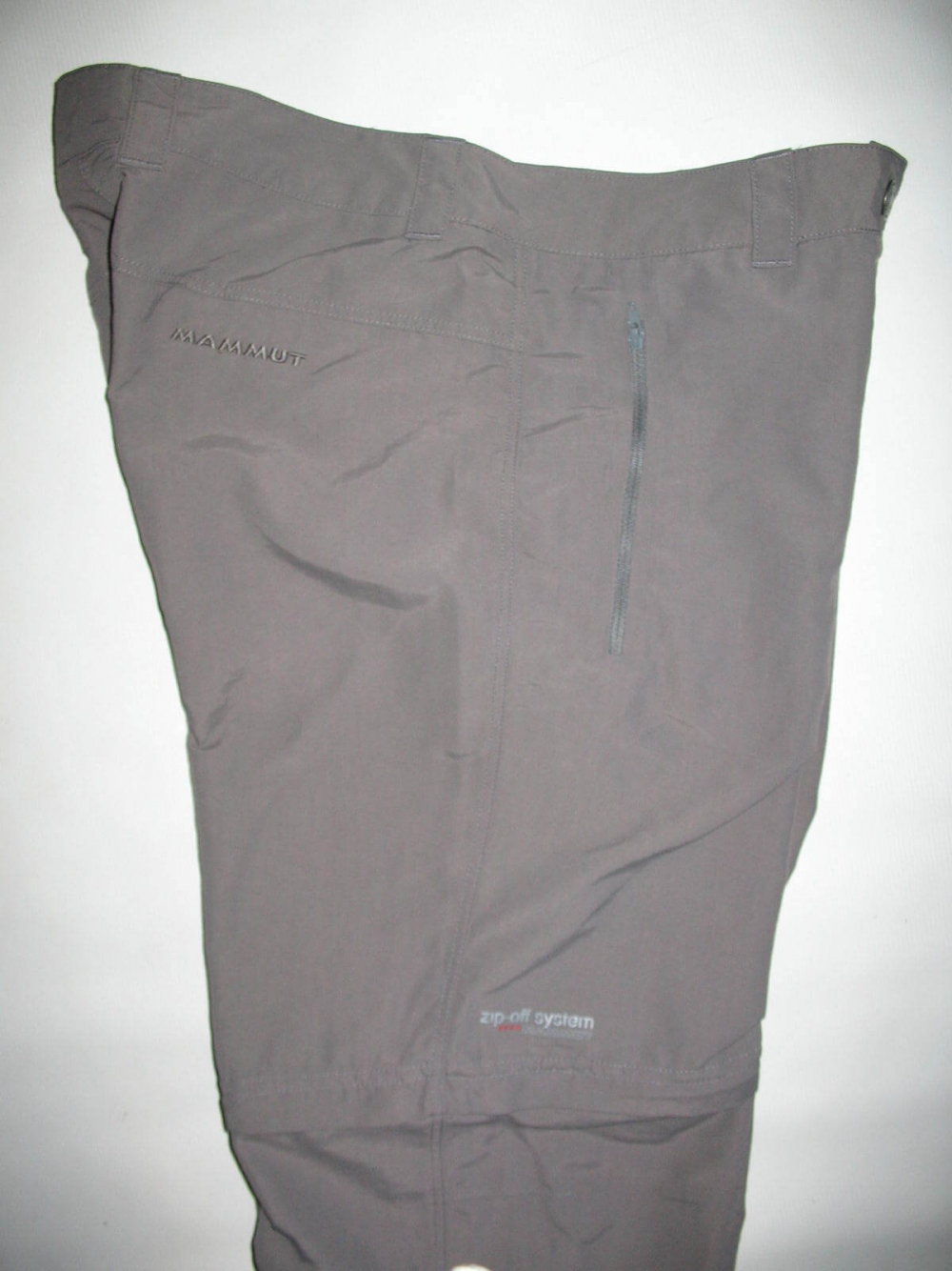 Штаны MAMMUT Zip Off pants lady (размер 40-L/M) - 5