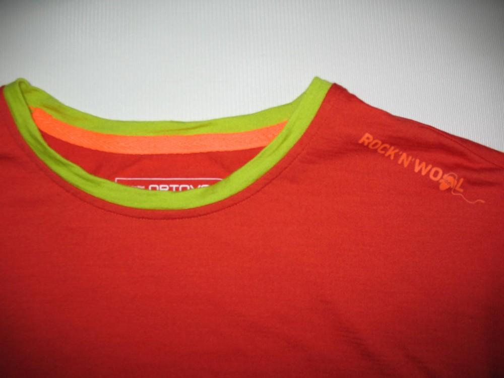 Футболка ORTOVOX rock'n'wool short sleeve jersey (размер М) - 3
