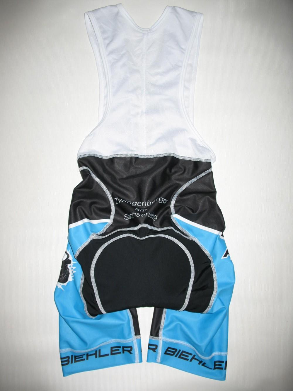 Велошорты BIEHLER heavy gear bib cycling shorts (размер S) - 2