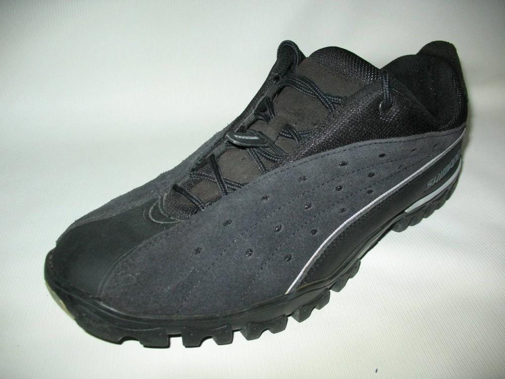 Велотуфли SHIMANO sh-mt30 mtb shoes (размер US13/EU48(на стопу до 305 mm)) - 2