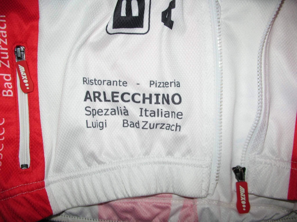 Веломайка MAX HUERZELER bicycle adventure jersey (размер S) - 4