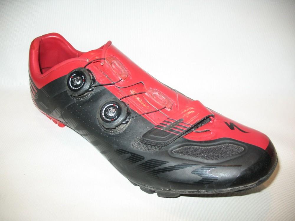 Велотуфли SPECIALIZED s-works xc mtb shoes (размер US12.25/UK11.25/EU46(на стопу до 295 mm)) - 3