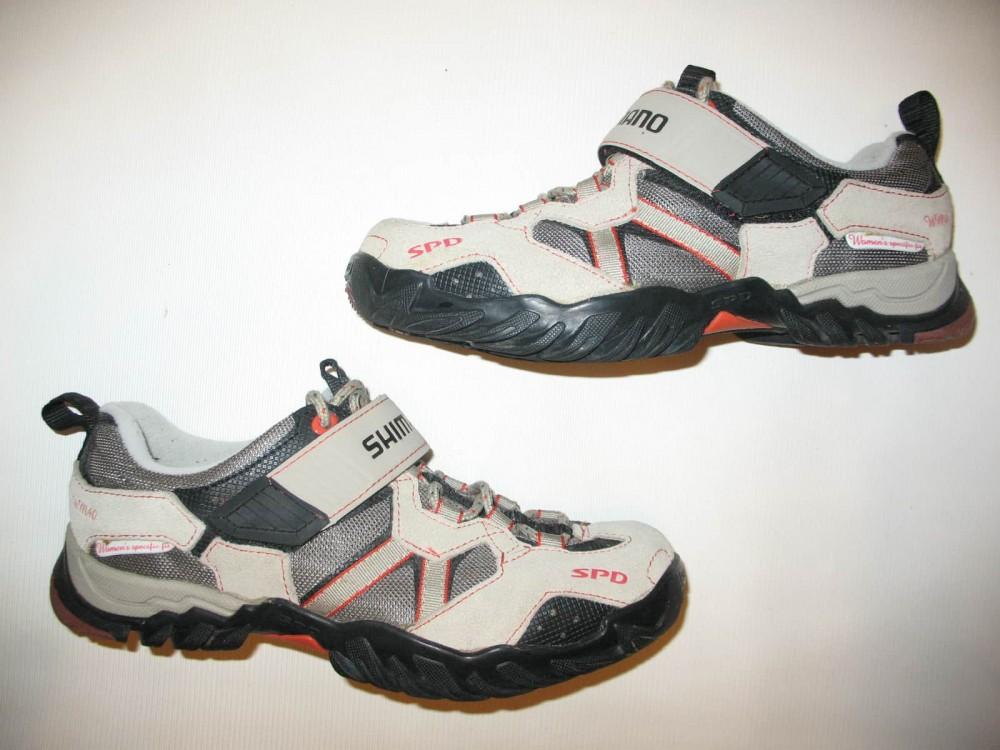 Велотуфли SHIMANO sh-wm 40 mtb shoes lady (размер US6.5/EU38(на стопу 238 mm)) - 1