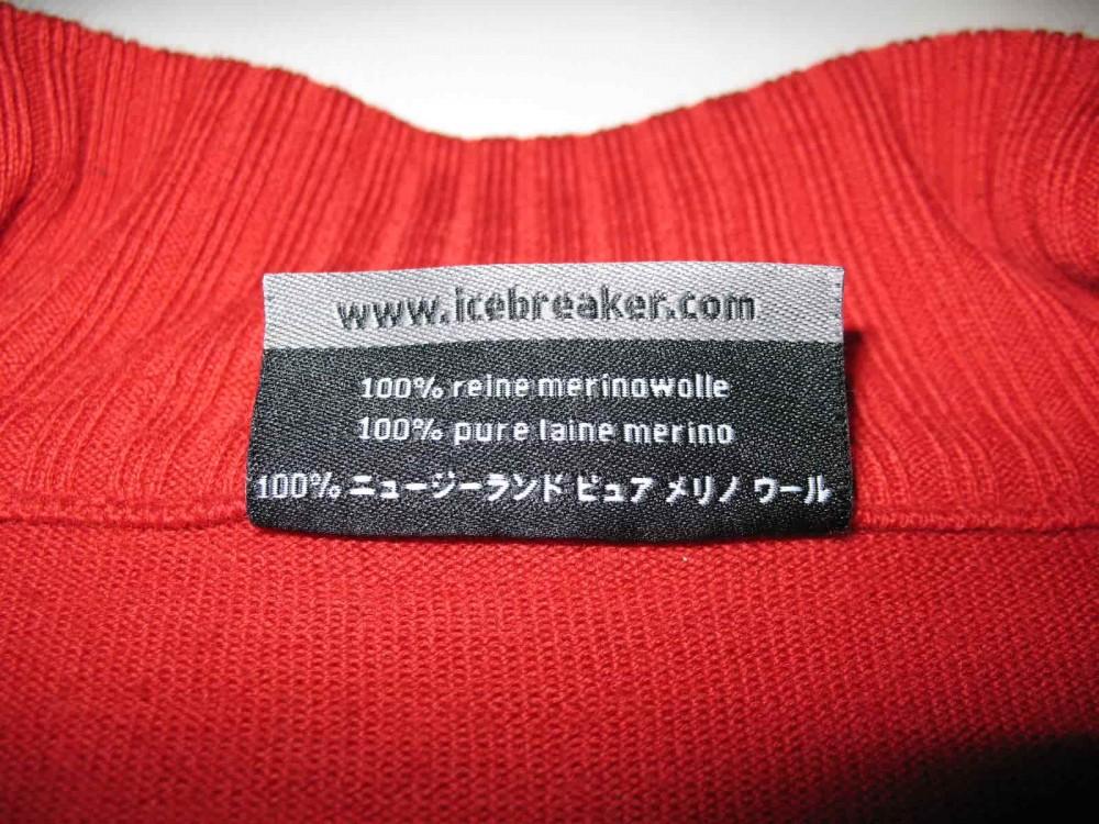 Кофта ICEBREAKER sport LTD jersey (размер L) - 4