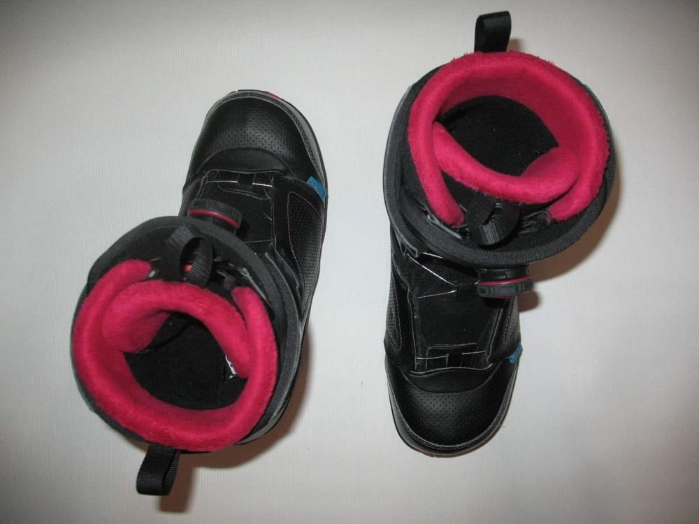 Ботинки SALOMON pearl boa snowboard boots (размер US10/UK8,5/EU42,5(на стопу до 270mm)) - 4