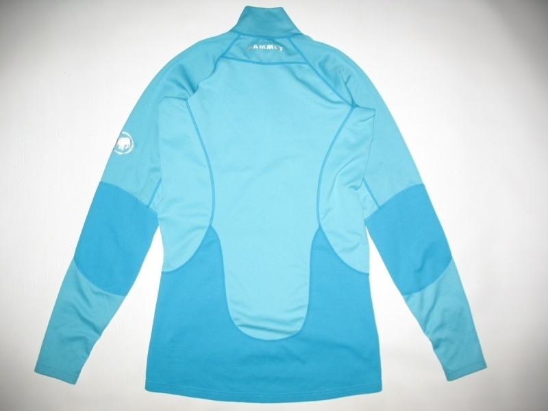 Футболка  MAMMUT Zip Longsleeve all-year lady (размер S) - 2