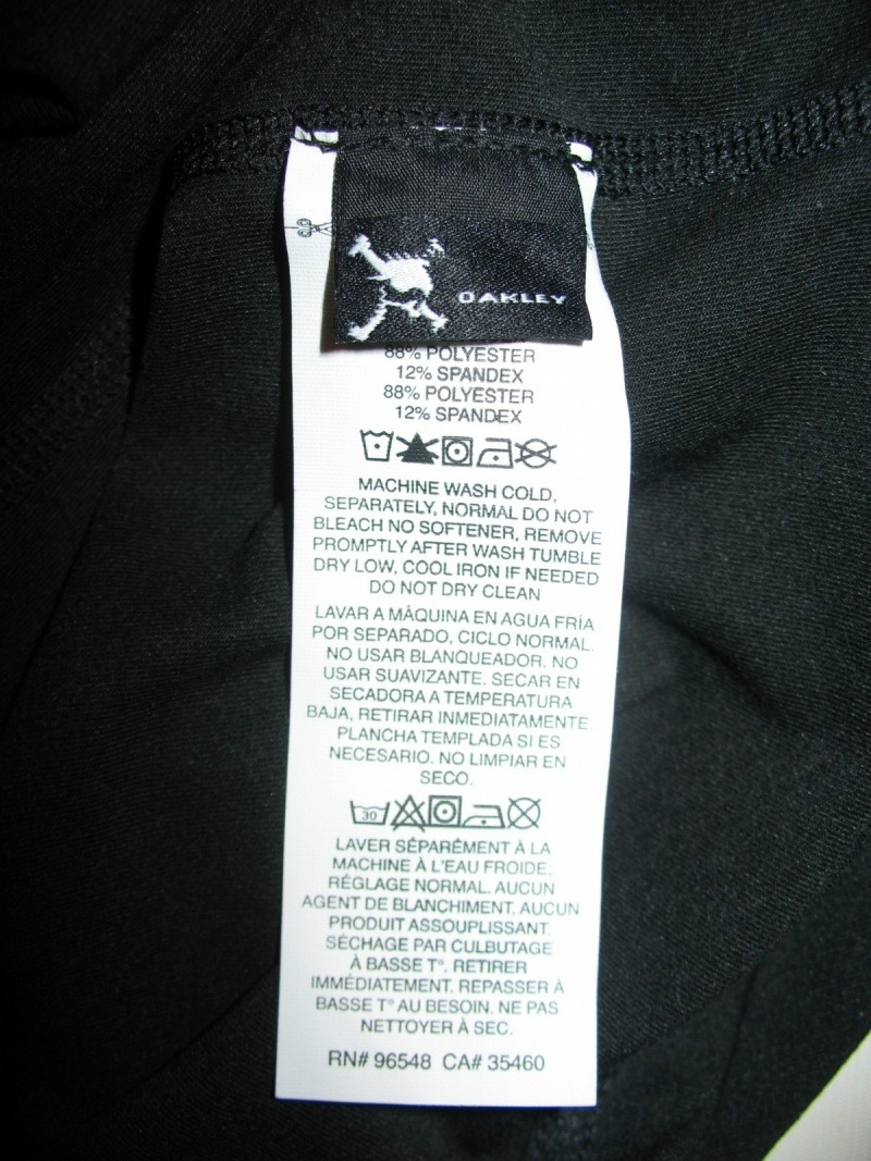 Кофта OAKLEY Advance 1/4 Zip (размер M/L) - 10