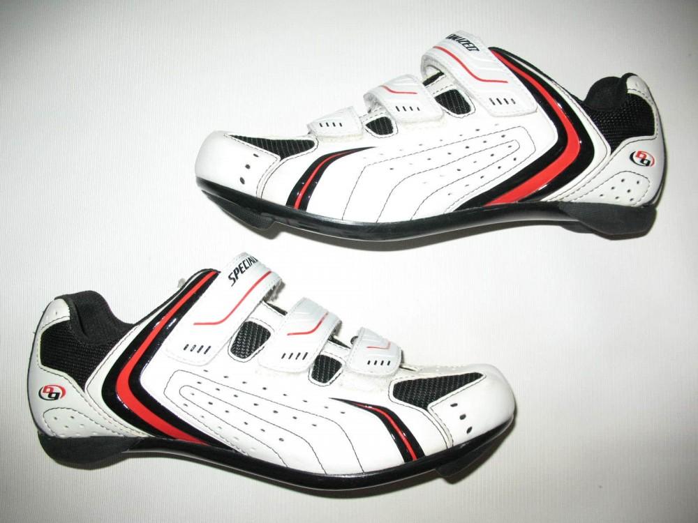Велотуфли SPECIALIZED sport road white shoes (размер EU41(на стопу до 260 mm)) - 1