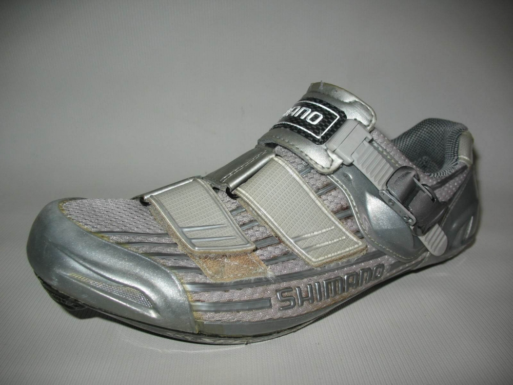 Велотуфли SHIMANO SH-R215 Road Shoes (размер US9/EU43(на стопу 272 mm)) - 2