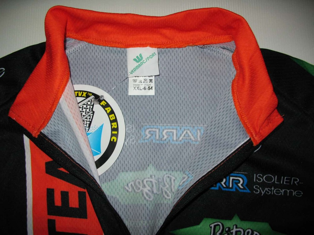 Веломайка VERMARC ebe-racing team cycling jersey (размер XXL-6-54) - 2
