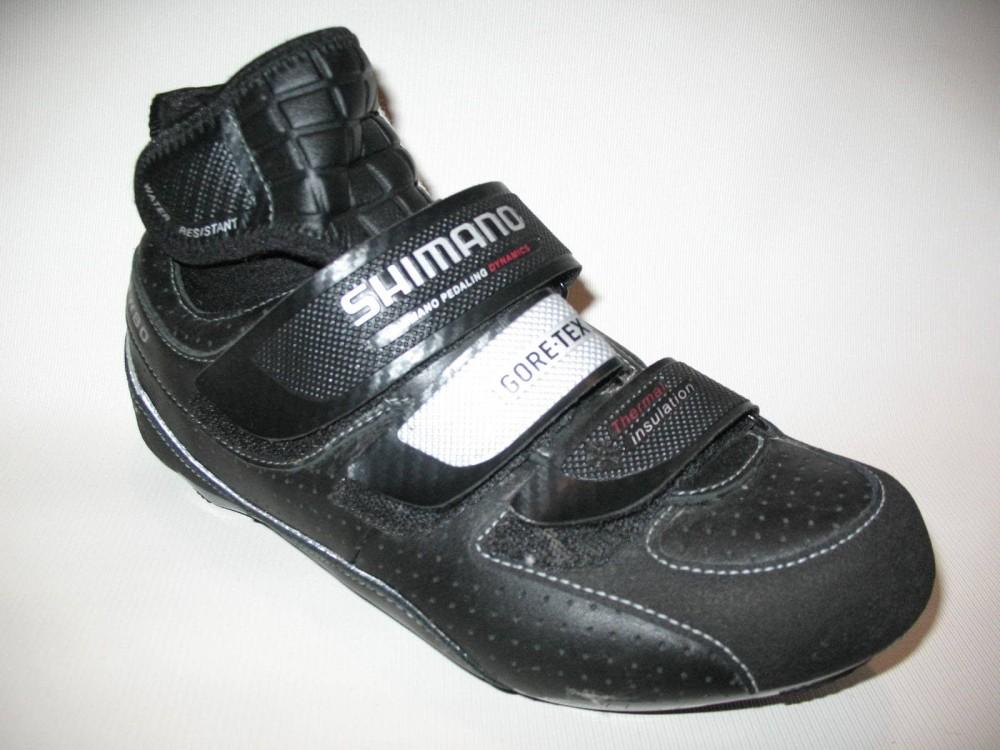 Велотуфли SHIMANO rw80 GTX shoes (размер US7,5;EU41(на стопу до 258 mm)) - 3