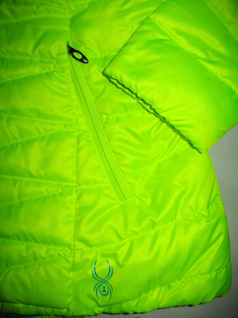 Куртка SPYDER timeless hoody down jacket lady (размер M) - 9
