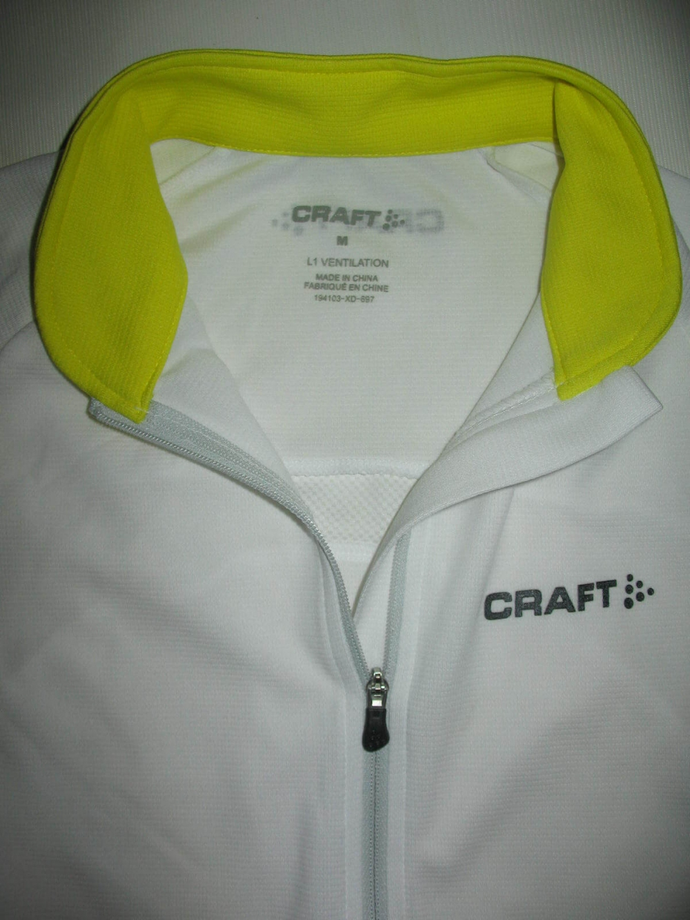 Веломайка CRAFT performance star full-zip jersey lady (размер М) - 3