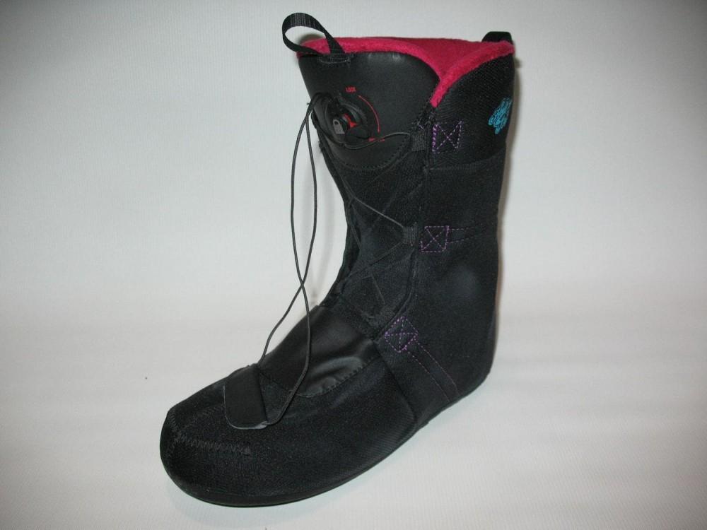 Ботинки SALOMON pearl boa snowboard boots (размер US10/UK8,5/EU42,5(на стопу до 270mm)) - 8