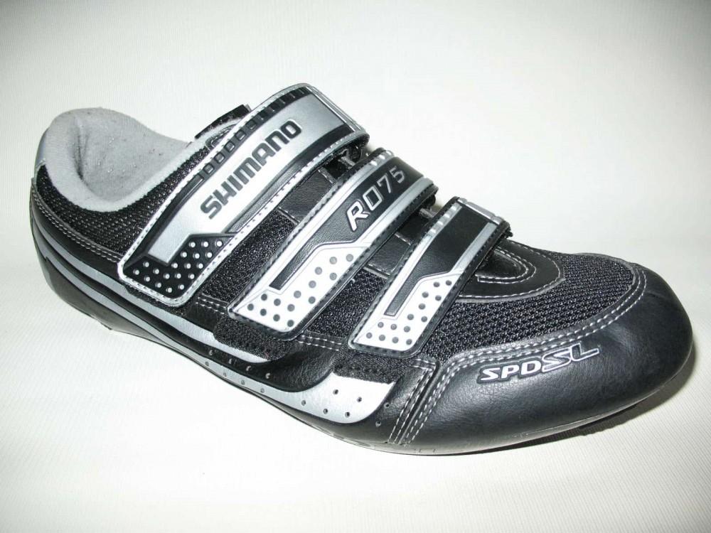 Велотуфли SHIMANO sh-r075 road shoes (размер EU47(на стопу 298 mm)) - 2