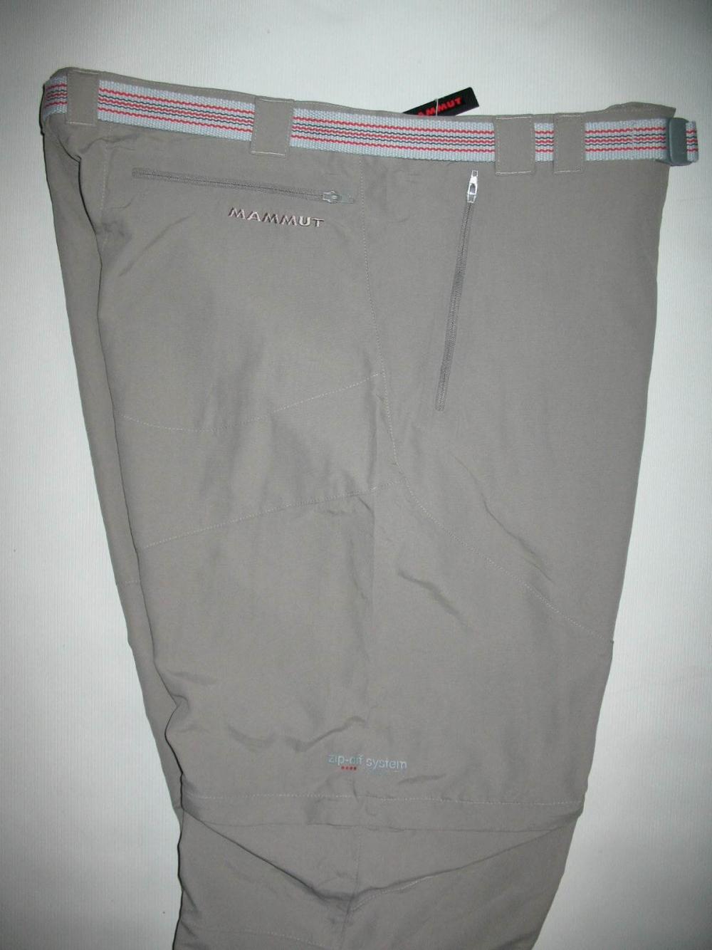 Штаны MAMMUT Zip off pants (размер 52-L/XL) - 8