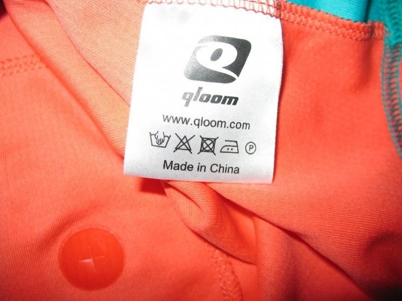 Футболка QLOOM bike jersey 5 lady  (размер XS/S) - 4