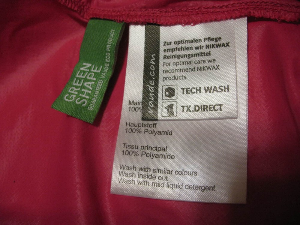 Куртка VAUDE air ll jacket lady (размер 34-XXS/XS) - 9