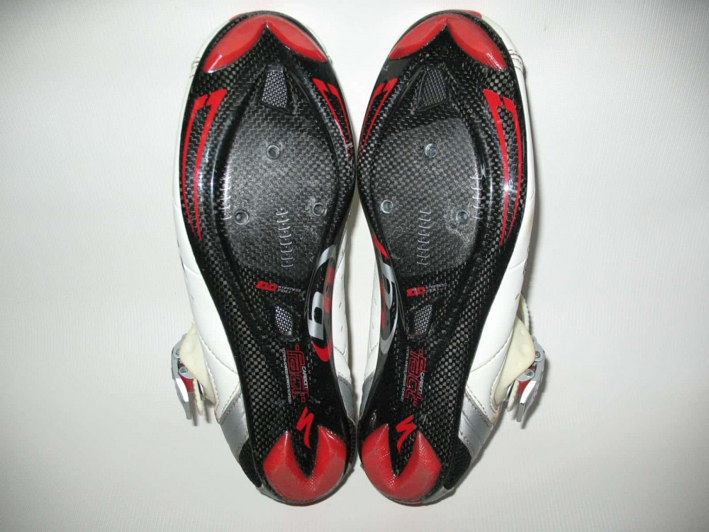 Велотуфли SPECIALIZED road fact carbon sole shoes (размер EU41(на стопу 260 mm)) - 6