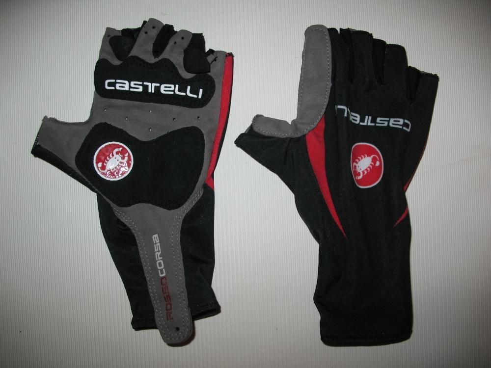 Велоперчатки CASTELLI rosso corsa classic glove lady/kids (размер XS) - 2