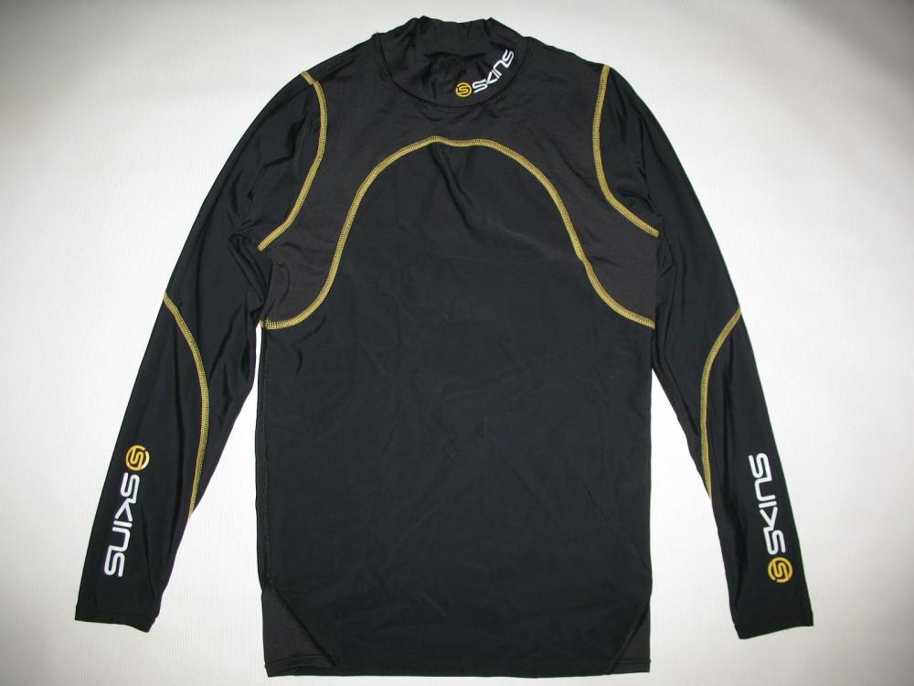 Футболка+брюки SKINS A200 compression long sleeves jersey+long tights (размер M) - 1