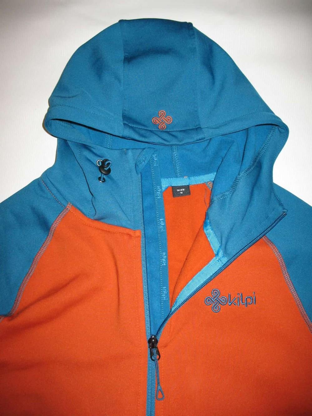 Кофта KILPI yoho-m fleece hoodies jacket (размер S) - 6